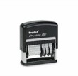 Trodat Self-Inking Phrase & Date Stamp Date